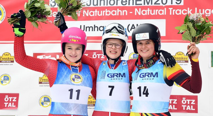 Mittermair-Pfattner, doppietta italiana nel singolo femminile agli Europei juniores. Haselrieder e Brunner 2° e 3° tra gli uomini