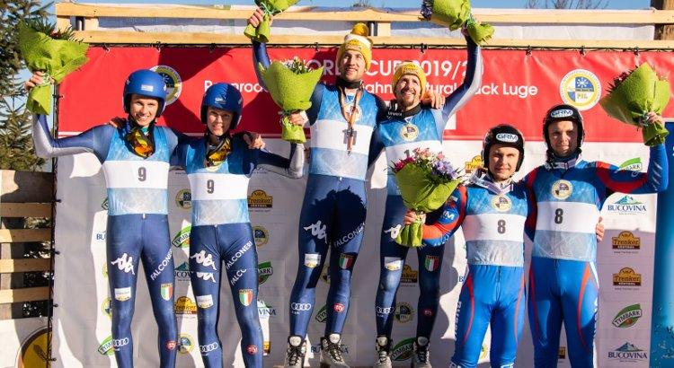 L'Italia domina pure a Vatra Dornei: Pigneter/Clara e i cugini Lambacher siglano la prima doppietta maschile della stagione