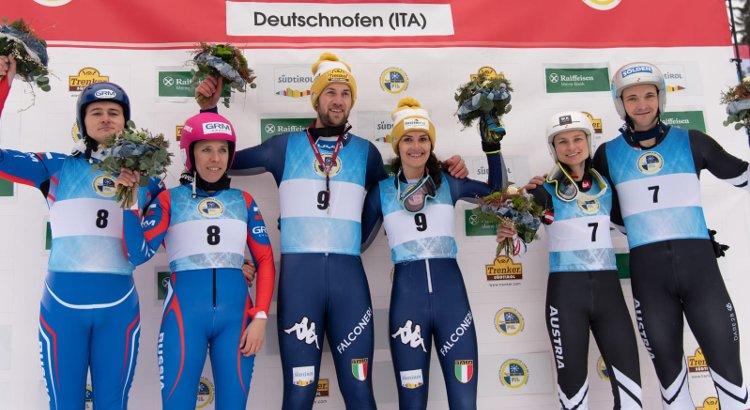 L'Italia si impone anche nella gara a squadre a Nova Ponente: ci pensano Lanthaler e Pigneter. Doppio podio nel singolo maschile