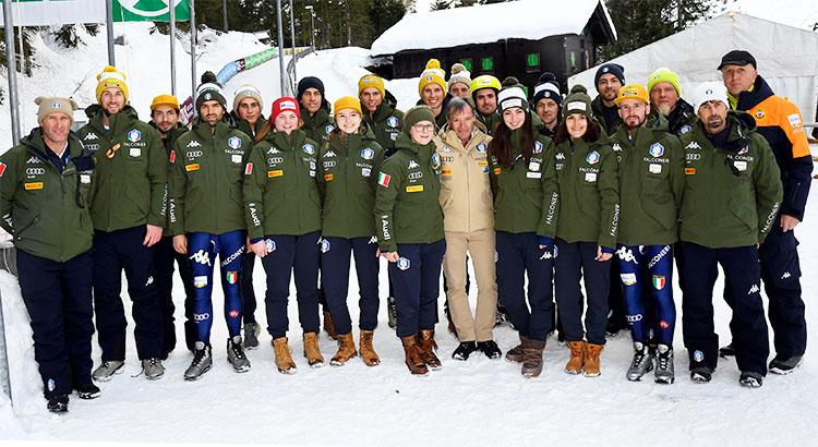 Il Presidente Flavio Roda in Val Passiria per la tappa di Cdm: