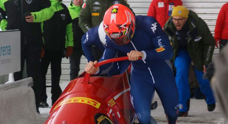 Il bob artificiale a Mondovì apre la stagione con un raduno atletico