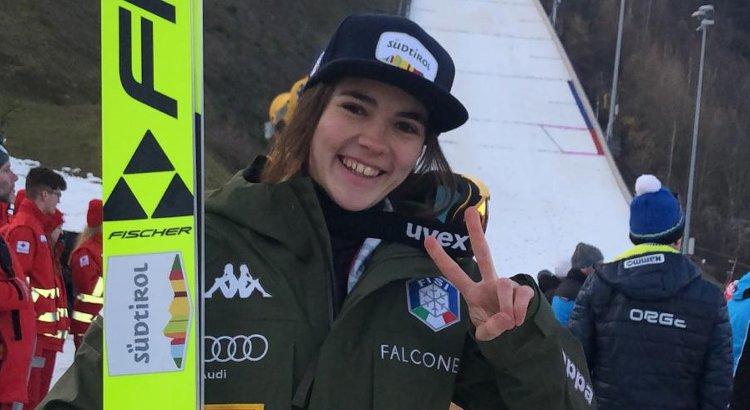 Lara Malsiner 13sima nel salto femminile di Cdm a Rasnov. Anche la sorella Jessica nelle venti