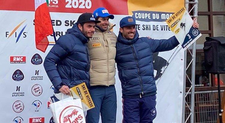 Simone Origone riparte vincendo nella tormenta di Vars: è il trionfo numero 44
