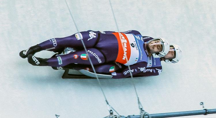 Rieder/Rastner sul podio nel doppio a St. Moritz. Kevin Fischnaller 13/o nel singolo