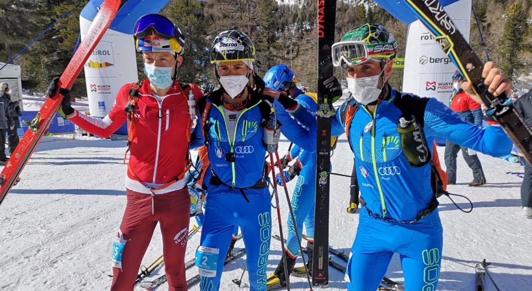 Eydallin e Antonioli primo e terzo nell'individuale di Cdm in Val Martello. De Silvestro terza fra le donne