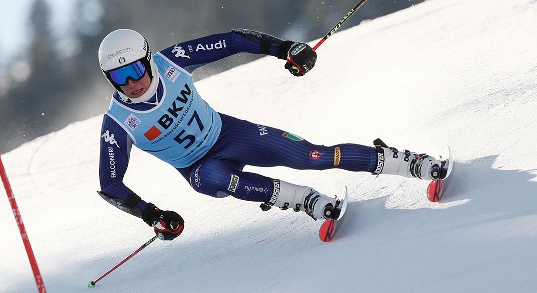 A Franzoni e Paini il titolo italiano della combinata alpina a Santa Caterina. Franzoni vince anche il titolo Giovani