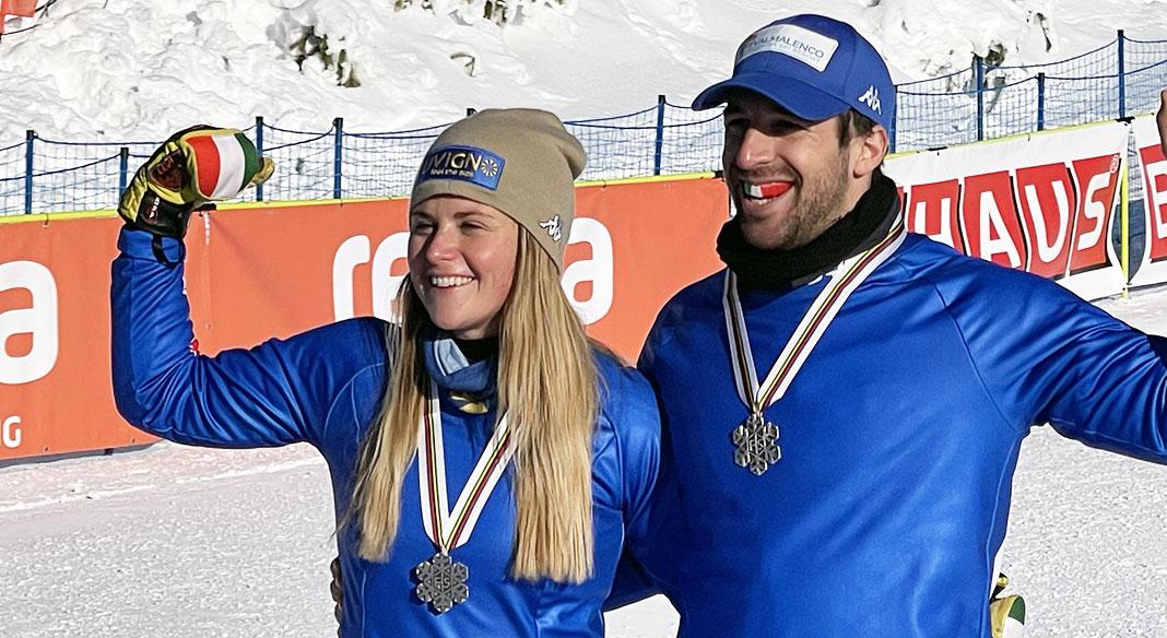Moioli e gli specialisti dello snowboardcross a Cervinia quattro giorni