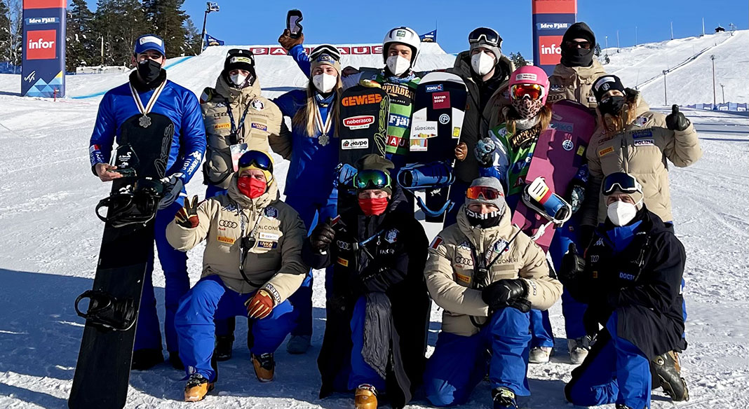 Il cross park di Colere ospita sabato 10 aprile i Campionati Italiani Assoluti di snowboardcross: in pista Moioli e tutti gli specialisti azzurri