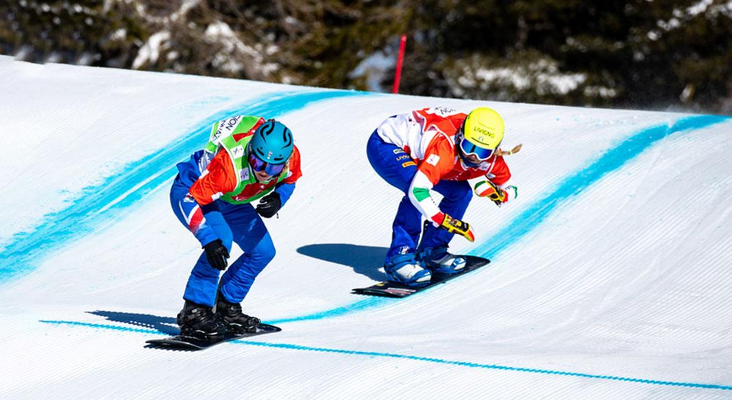 Il calendario della Cdm di snowboardcross 2021/22: nove appuntamenti con Cervinia e Valmalenco protagoniste