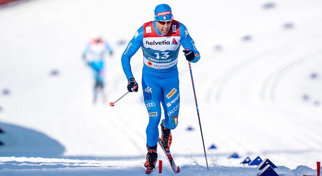 La squadra di Cdm di sci di fondo in allenamento tra Ramsau e la Val Senales