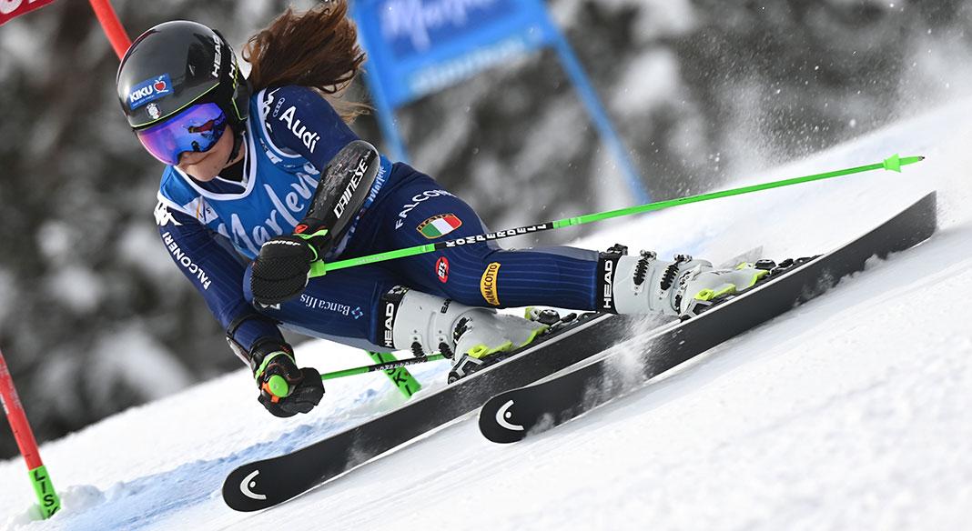 Secondo podio in Coppa Europa a distanza di pochi giorni per Pichler: è seconda nel SG in Val di Fassa