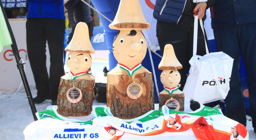 Pinocchio sugli Sci, a Lustrissy e Castlunger gli slalom ragazzi all'Abetone. Zorzi e Mattio si impongono nei giganti