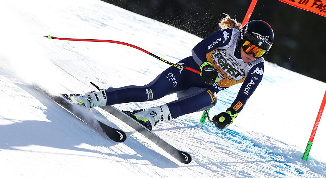 Lara Gut-Behrami vince la prima discesa di Val di Fassa. Ottavo posto per Laura Pirovano:
