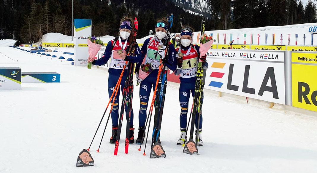 Italia doppio bronzo nelle due staffette Giovani ai Mondiali di Obertilliach