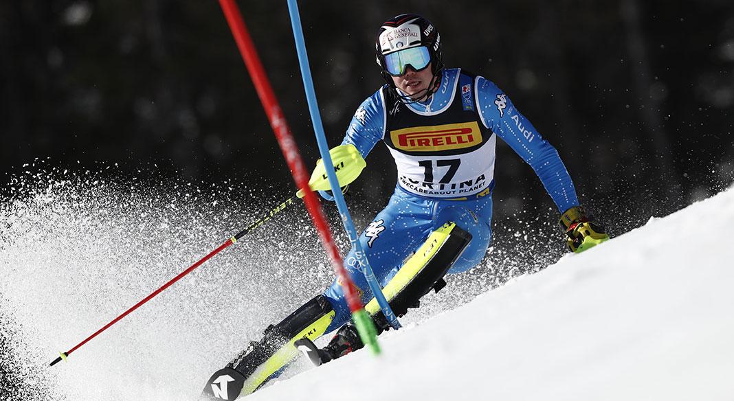 Il gruppo 1 di Cdm maschile di slalom in allenamento a Peer (Bel) dal 28 settembre all'1 ottobre