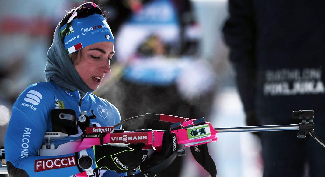 """La Squadra """"A"""" di biathlon in allenamento al passo di Lavazè dal 23 settembre al 7 ottobre"""
