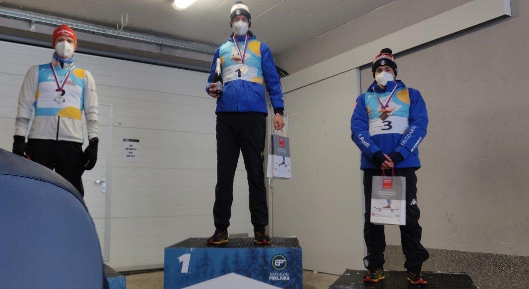 Grand'Italia nell'Alpen Cup jr a Pokljuka: Barp primo e Chiocchetti terzo nella 15 km. Silvestri ottava fra le donne