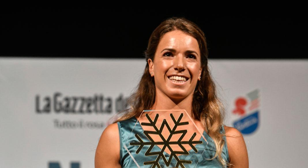 Marta Bassino ha ricevuto il Fiocco d'oro come atleta dell'anno dalla Gazzetta dello Sport