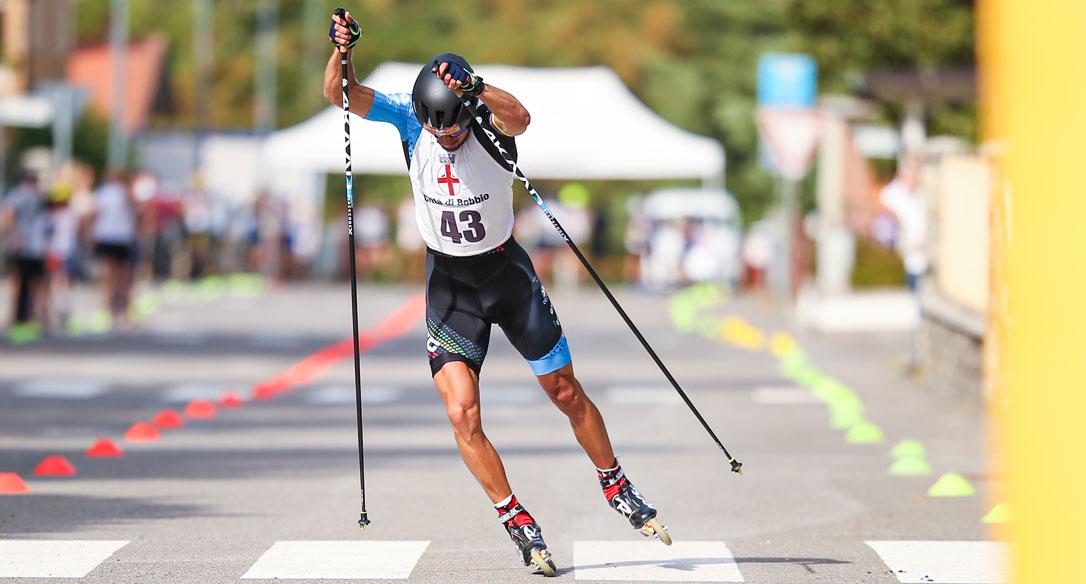 Emanuele Becchis si porta a casa la sprint in Coppa Italia nella tappa di Bobbio (Pc)