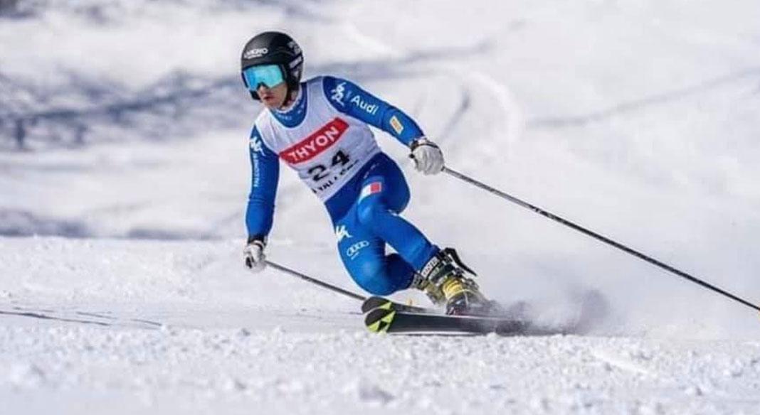 Bormolini è campione mondiale junior di telemark nel parallelo sprint