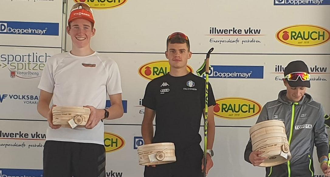 Uno strepitoso Bortolas primo in Alpen Cup nella tappa di Tschagguns (Aut)