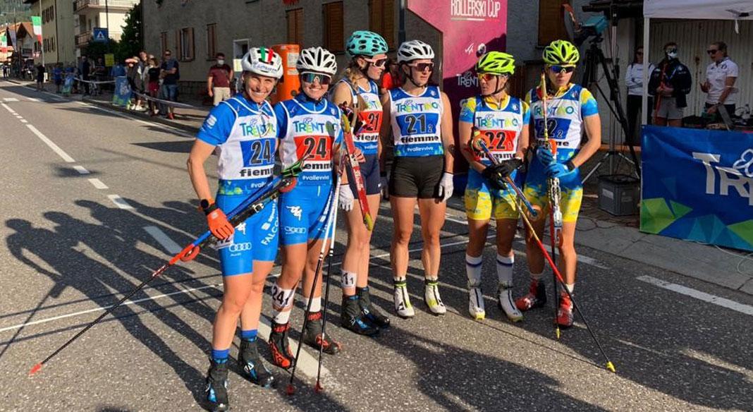 Sordello-Brocard argento nella team sprint femminile ai mondiali in Val di Fiemme, maschi fuori dal podio