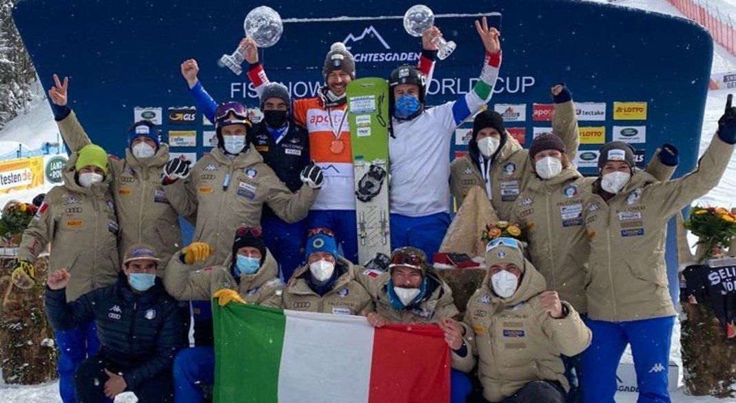Tre giorni di training a Livigno per la Nazionale di snowboard alpino