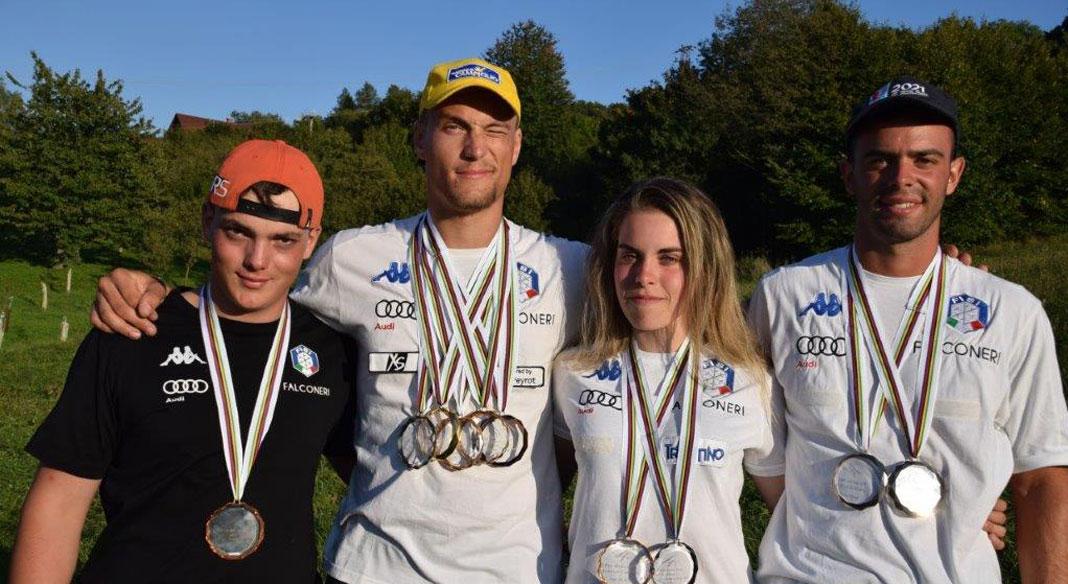 Nove medaglie per lo sci d'erba azzurro ai Mondiali di Stitna Nad Vlari