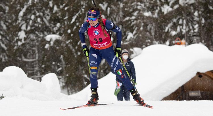 """Il team """"A"""" di biathlon al """"Cerism"""" di Rovereto per una serie di test funzionali"""