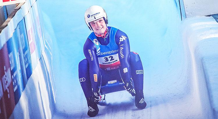 Dominik Fischnaller, che rimonta! Sale dal settimo al terzo posto a Winterberg. Due podi azzurri anche nelle sprint
