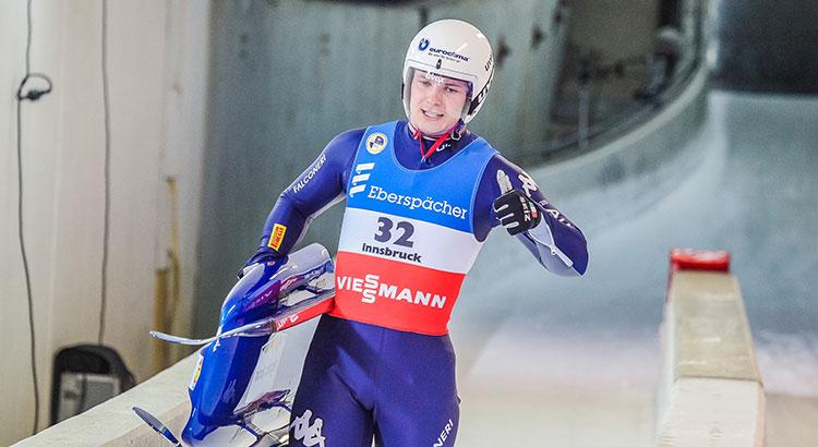 Fischnaller terzo e bronzo europeo nel singolo di Cdm a Sigulda: