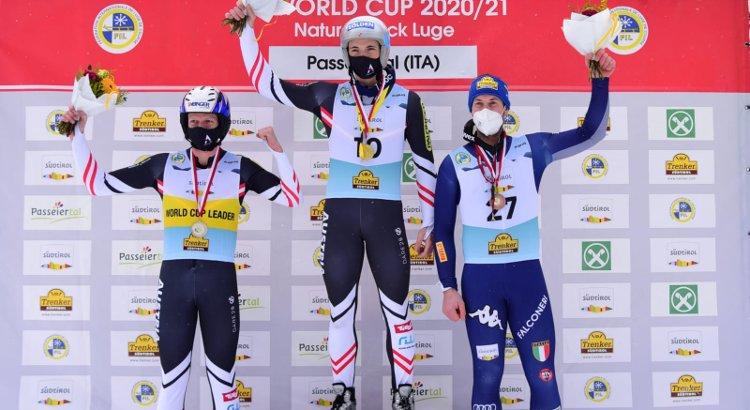 Pigneter terzo nel singolo maschile in Val Passiria, Italia davanti a tutti nel team competition