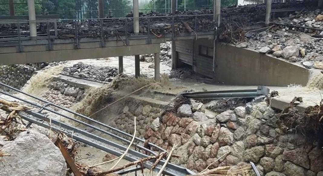 L'alluvione tedesca distrugge la pista di Koenigssee: niente gare per la prossima stagione