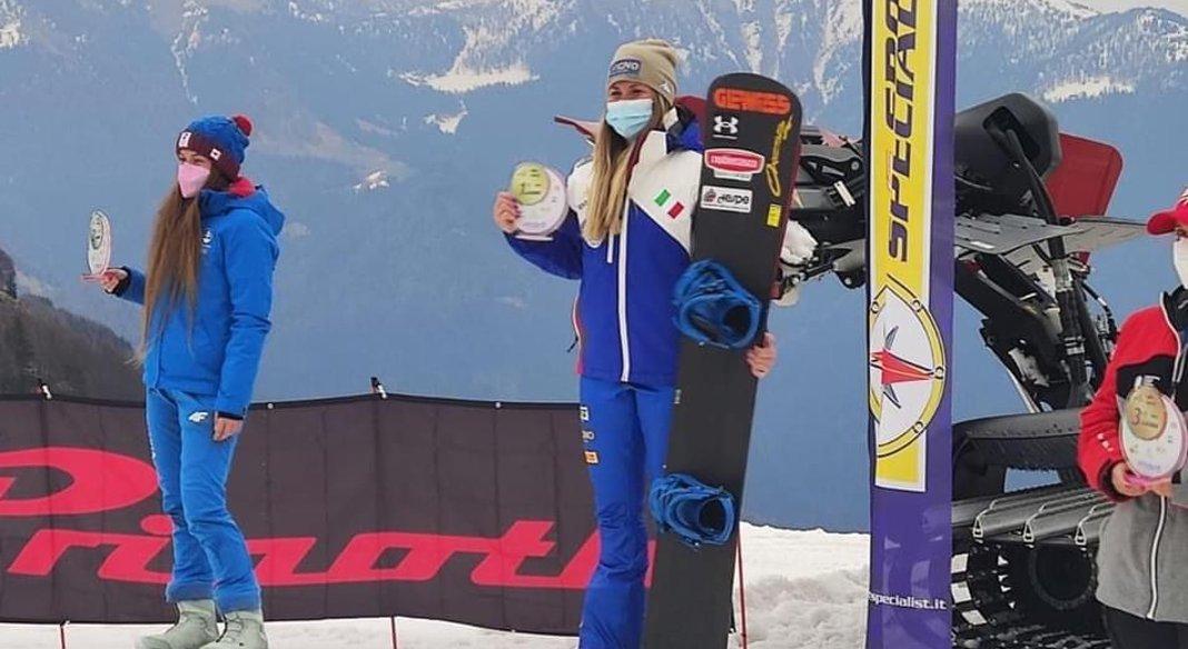 Moioli e Leoni campioni italiani di snowboardcross a Colere. Assegnati anche i titoli giovanili