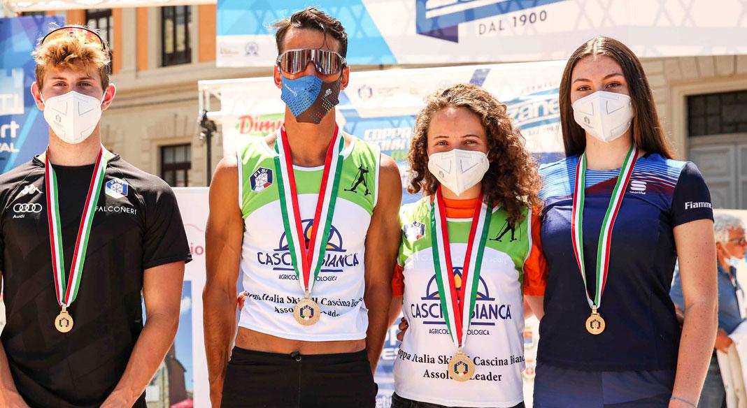 Becchis e Sordello campioni italiani a Rieti. La due giorni appenninica ha aperto la stagione 2021