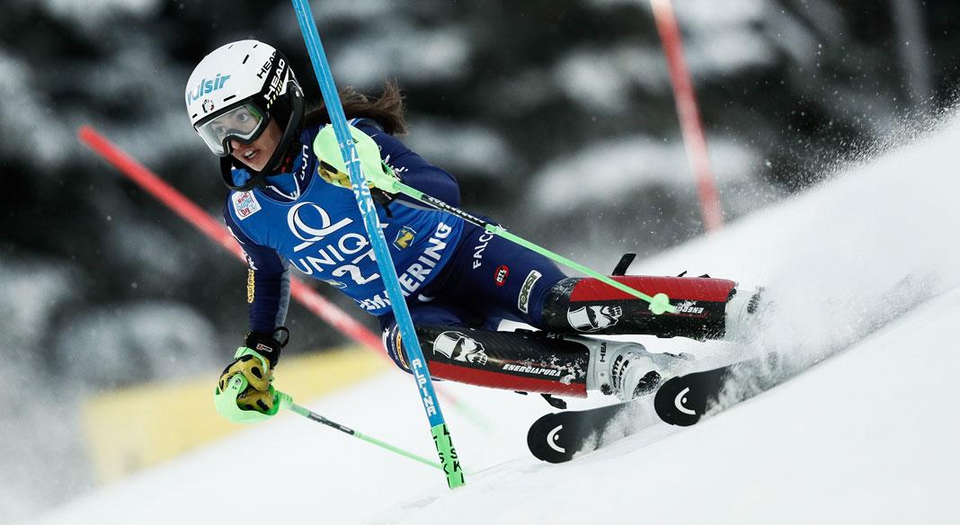Marta Rossetti rimette gli sci allo Stelvio per un allenamento riabilitativo di due giorni