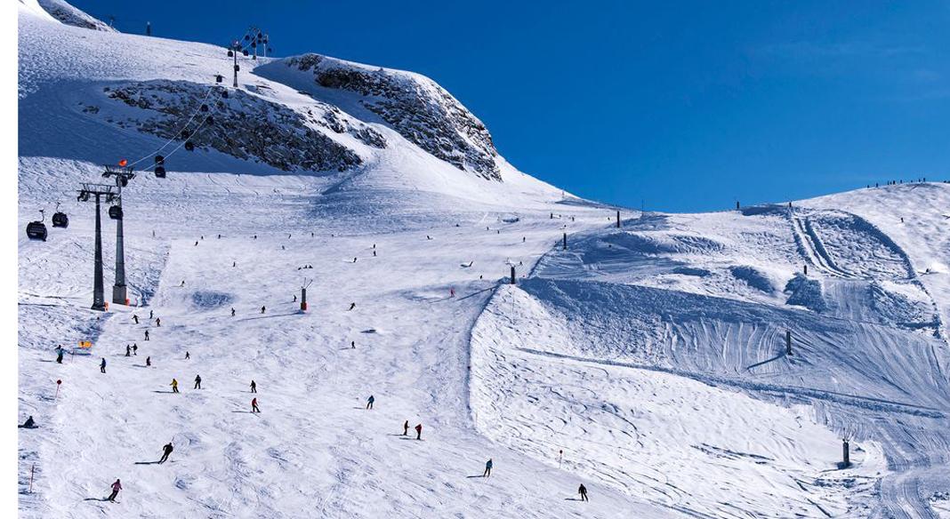 Gruppi osservati maschile e femminile sulle nevi di Saas Fee dal 20 al 25 ottobre