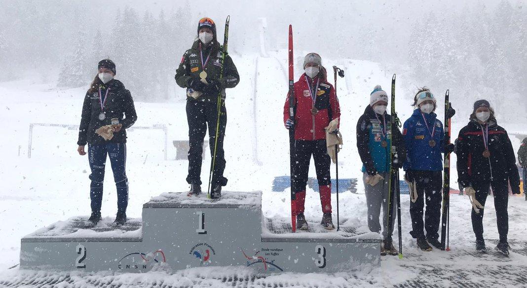 Sieff concede il bis nella Gundersen conclusiva di Alpen Cup a Premanon, finisce quarta nel torneo