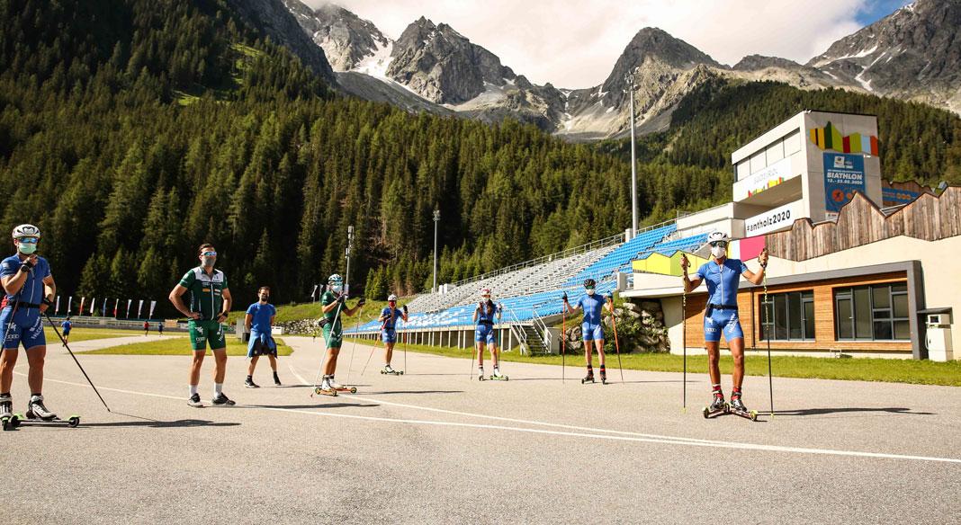 Lo skiroll azzurro ad Anterselva per una settimana full-immersion. 11 gli atleti impegnati
