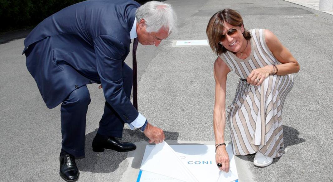 Gabriella Paruzzi entra nella Walk of Fame del Coni