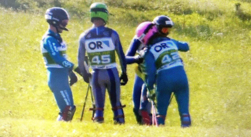 Filippo Zamboni conquista l'oro nello slalom ai mondiali di sci d'erba a Stita Nad Vlari