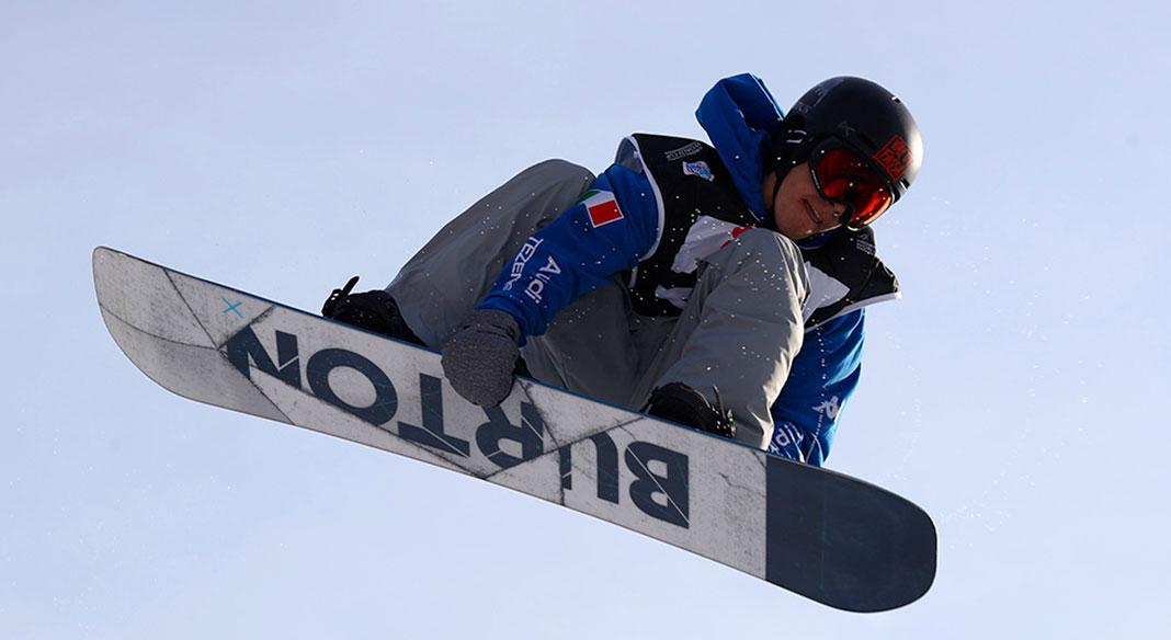 Cinque specialisti dello slopestyle freesnow a Livigno dall'8 al 17 aprile
